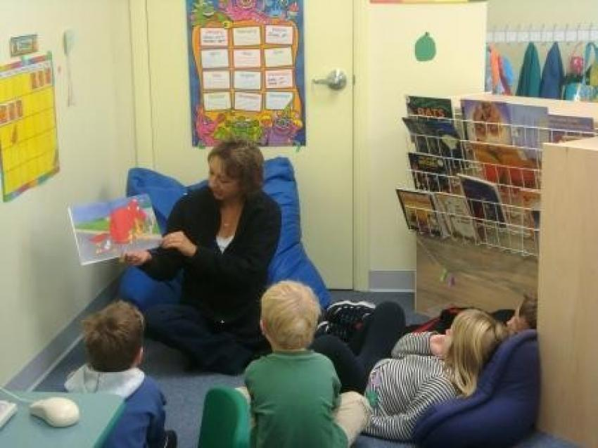 Kindergarten Small Circle Time