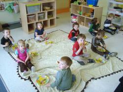 indoor picnic lunch