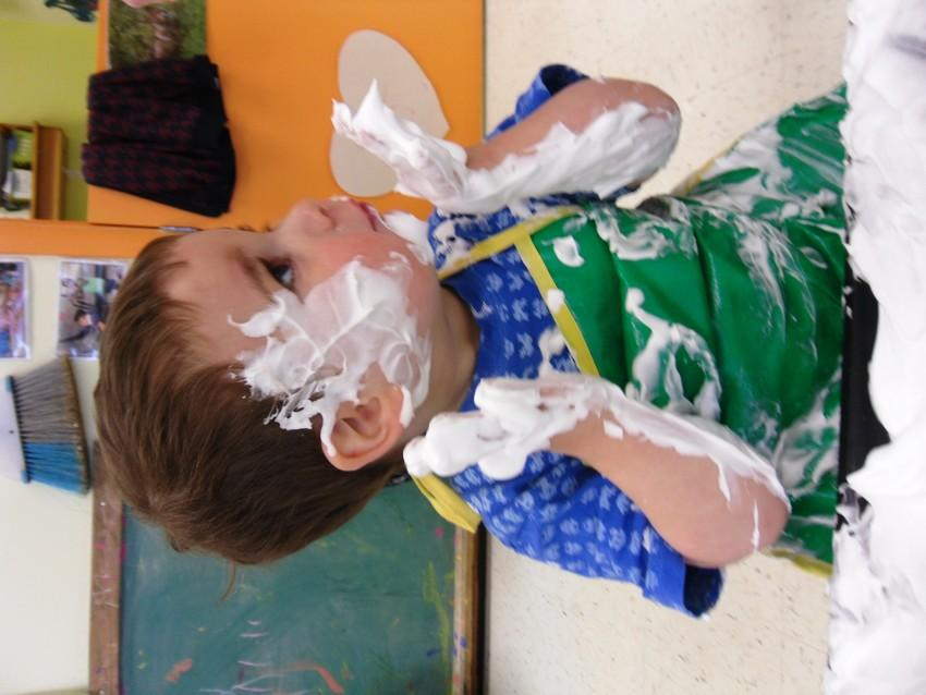 Sensory Play in Toddler Room