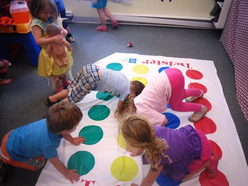Preschool Twister