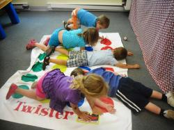 Preschool-Version of Classic Twister