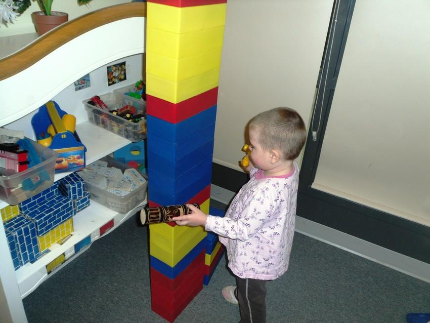 Tower Building and Break-down
