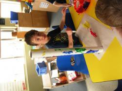 Making rainsticks