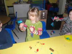 School-Age Feather Art
